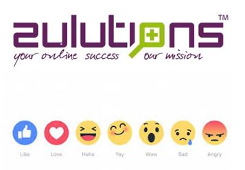 zulutions emoji Facebook blog like changing event